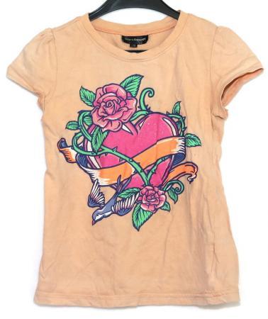 Kortärmad tröja med tryck Åsumtorps Secondhand